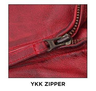 Ramsey-Red-Jacket-YKK-Zipper