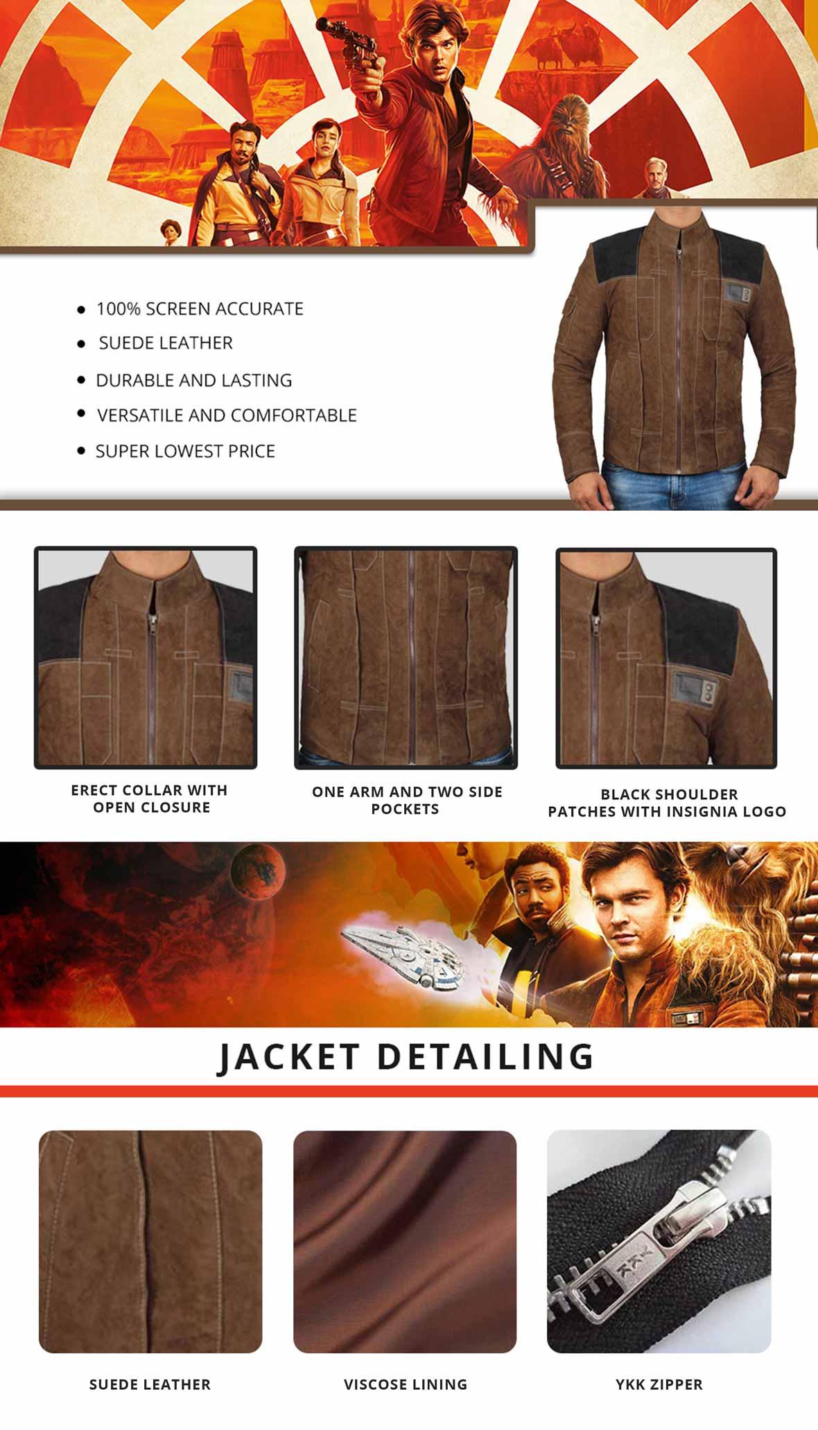 Star Wars Solo Jacket