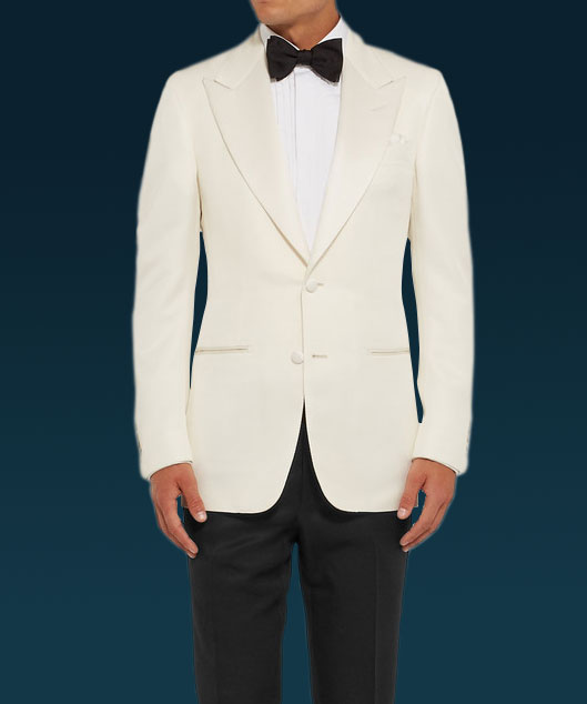 Spectre James Bond White Tuxedo Free Bow Tie