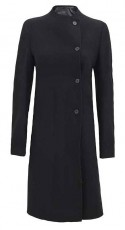 Single Breasted Wool Coat Womens