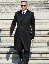 Daniel Craig James Bond Spectre Bond over coat
