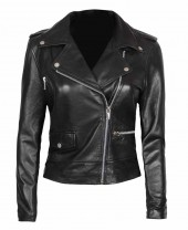 mens real leather brown jacket