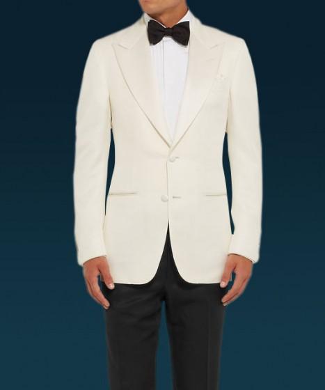James Bond Spectre White Tux