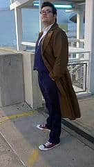 10th doctor who long coat