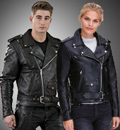 Asymmetrical Leather Jackets