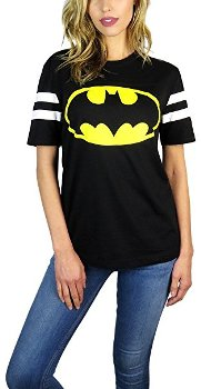 Batman Varsity Football Tee