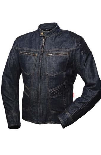 Denim motorcycle jacket mens