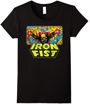 Iron Fist Born Graphic T-Shirt