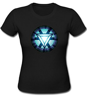 Iron Man Womens Cotton Tee