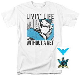 Livin' Life Without a Net T Shirt
