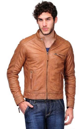 2c68c098fca Brown Leather Jacket  Save up to 45%