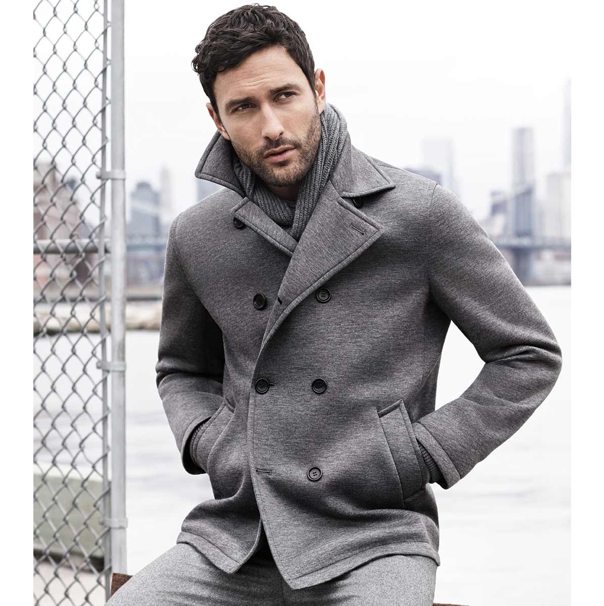 Biggest Collection of Pea Coat For Men