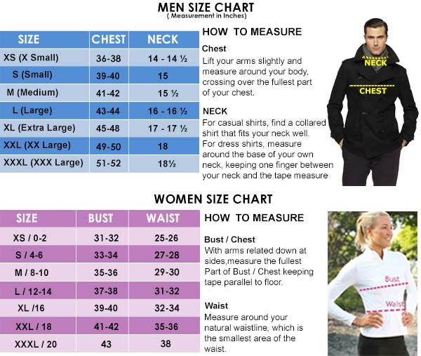 Size Chart Fjackets Jpg Clothing Guide