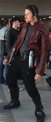 star lord guardians of the galaxy synthetic jacket
