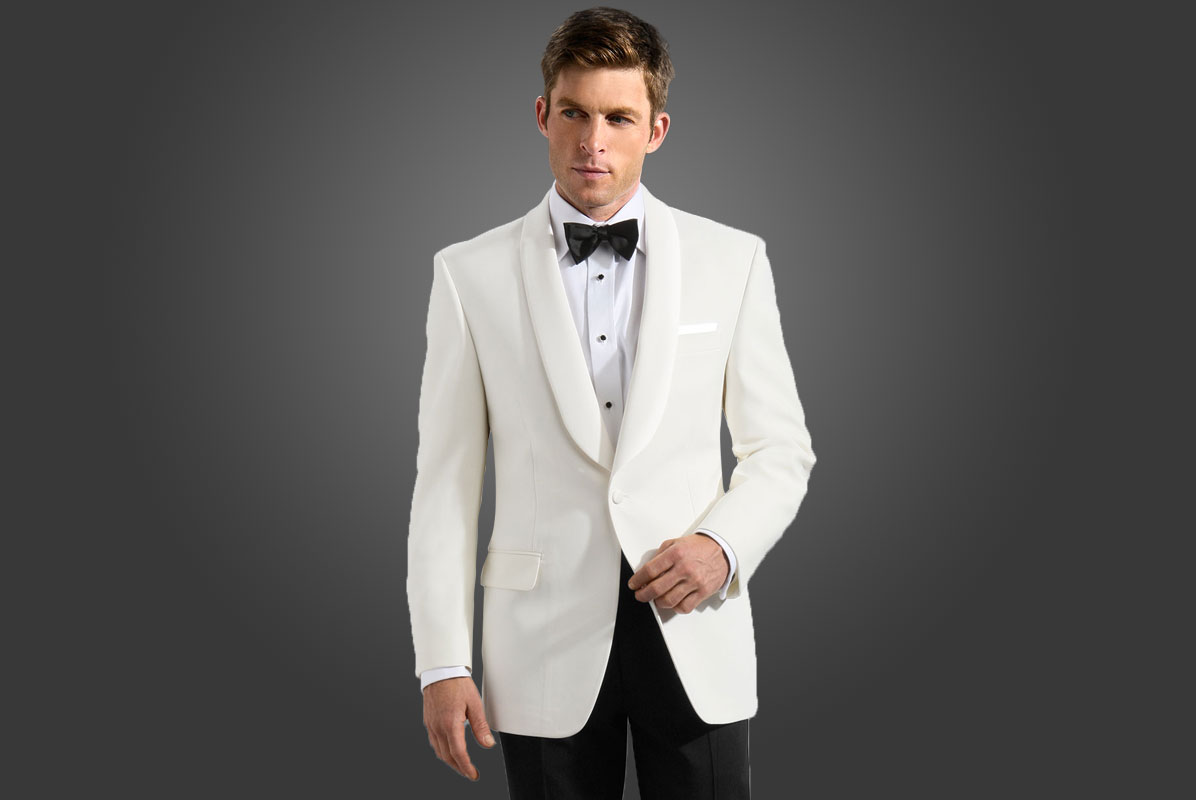 Image result for white tux