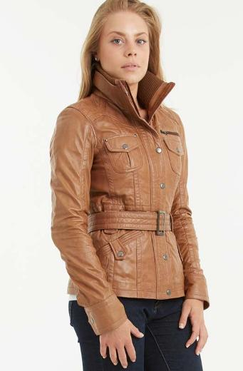 Top Collection of Brown Leather Jackets