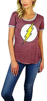 Flash Distressed Tee