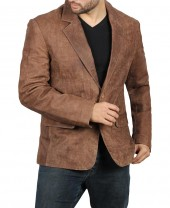 Suede Brown Blazer