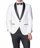 Black and White Tuxedo