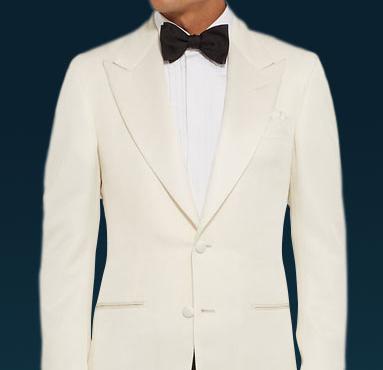 fashion design Super discount best shoes Spectre James Bond White Tuxedo (Free Bow Tie)