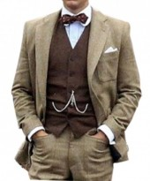 The Great Gatsby Brown Suit