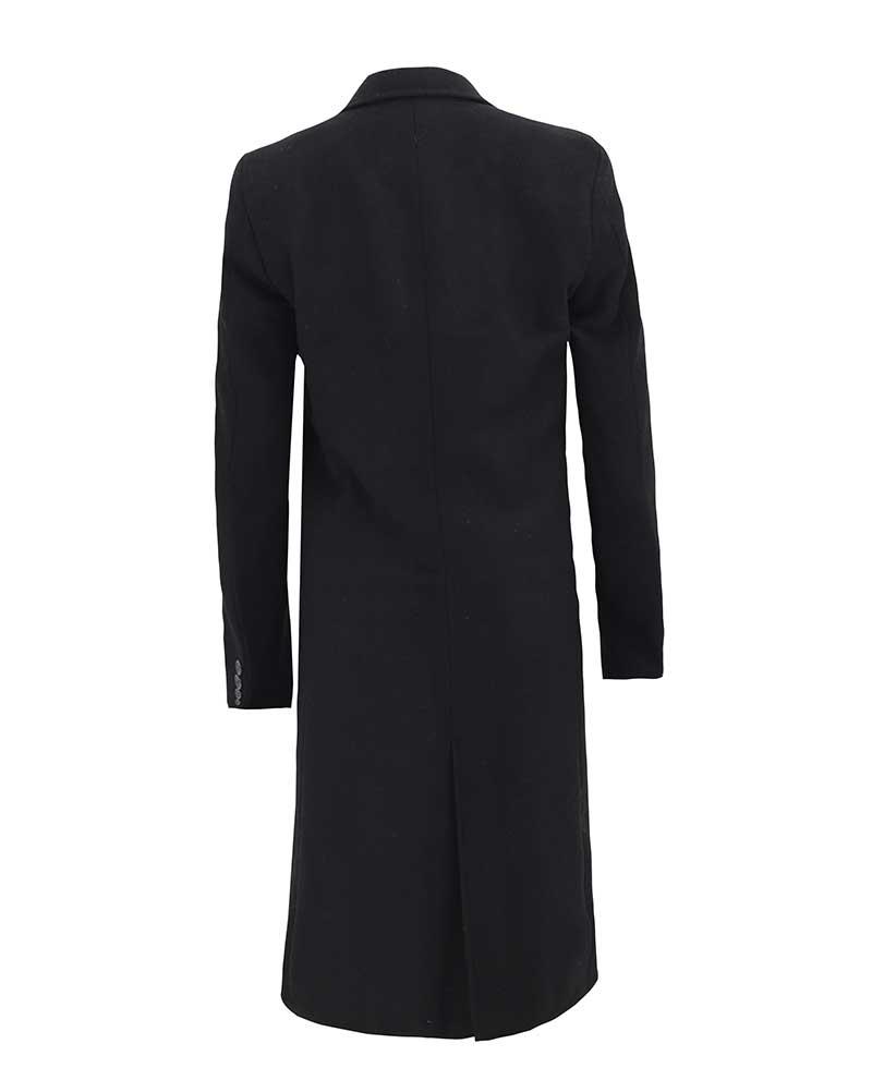 Black Wool Trench Coat Womens Long, Ladies Black Wool Trench Coat Uk