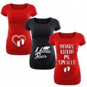 maternity graphics t shirts