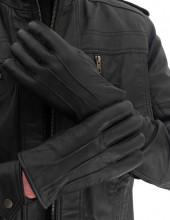 Real Leather Gloves Men