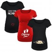 maternity graphic shirts