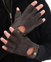 Mens Dark Brown Gloves