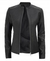 Biker Leather Jacket Women