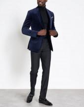 Deep Blue Prom Tuxedo